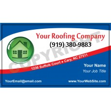 Roofing Business Card Magnet #1