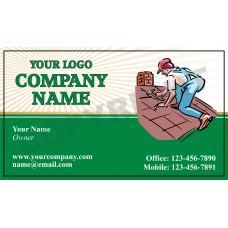Roofing Business Card Magnet #6