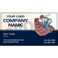 Roofing Business Card Magnet #7