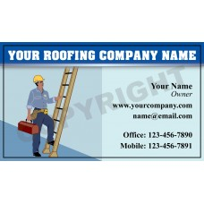 Roofing Business Card Magnet #10